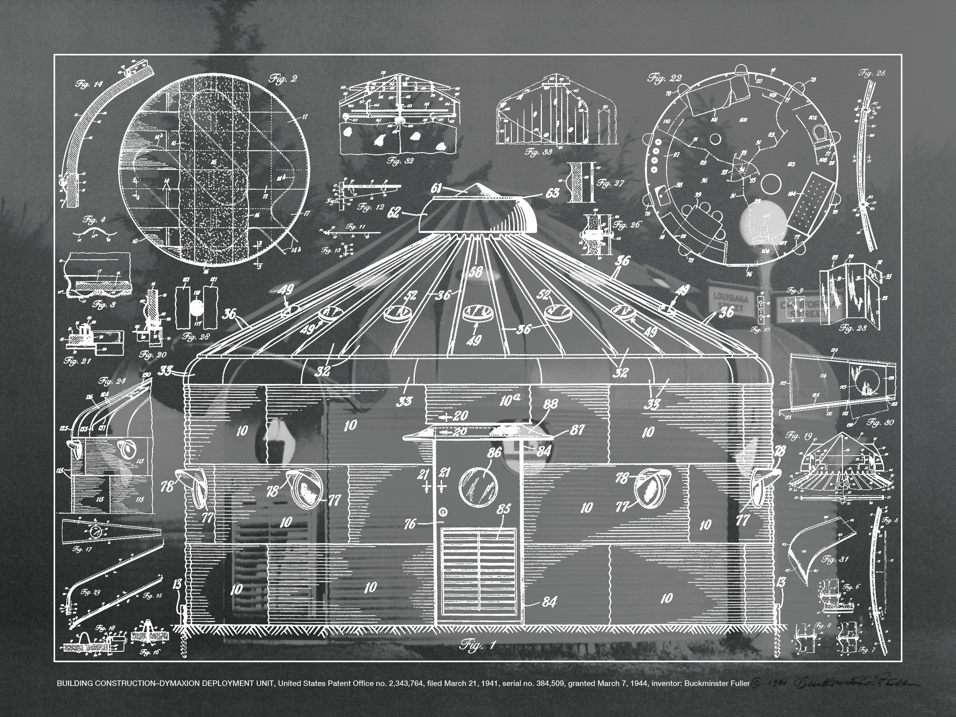 Buckminster Fuller Architect Engineer Inventor Artist