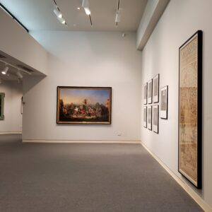view of Williams Center Gallery